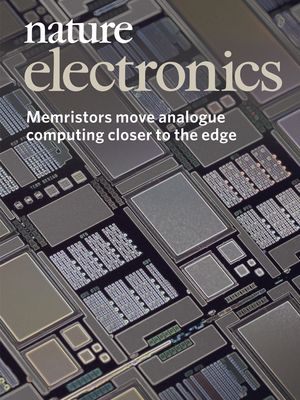 UMass Amherst research on memristors was featured in the debut issue of Nature Electronics earlier this year